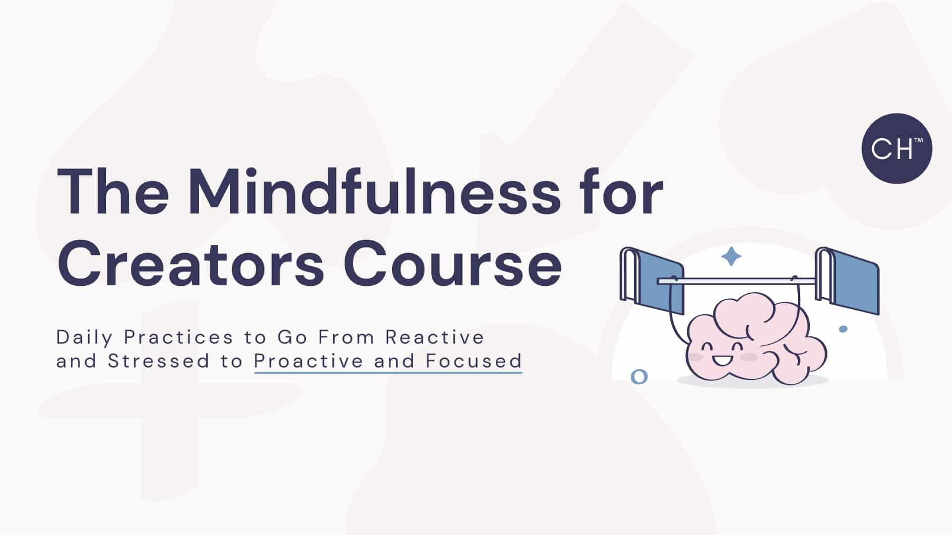 mindfulness for creators course