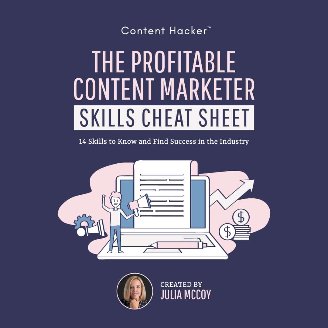 content marketer free skills guide