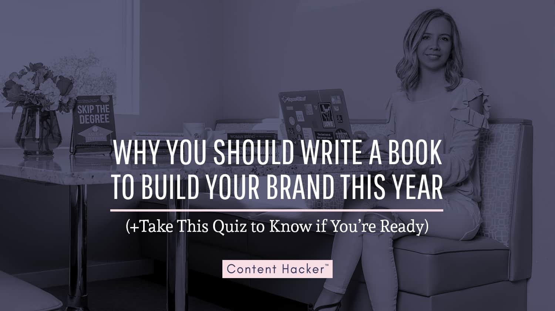 should you write a book
