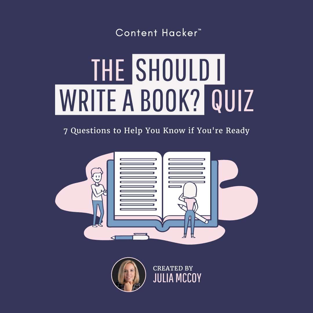 write a book quiz