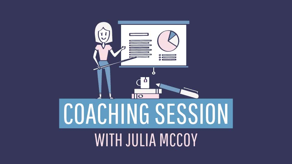 coaching session with julia mccoy