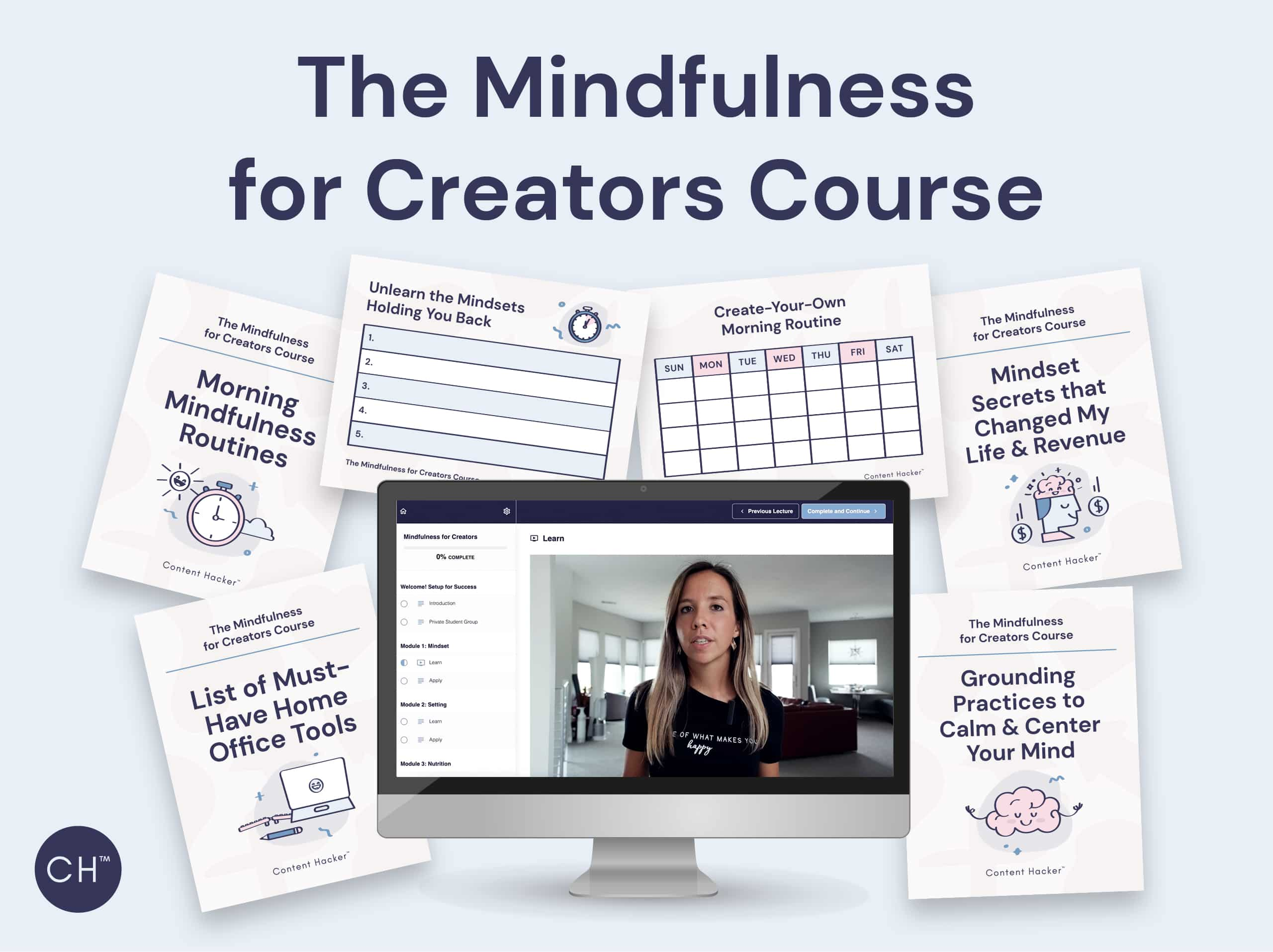 content hacker mindfulness course