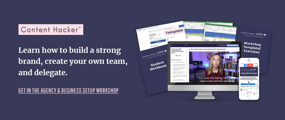 create your business workshop
