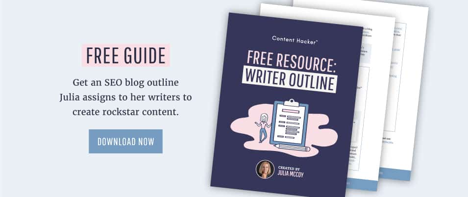 writer outline template