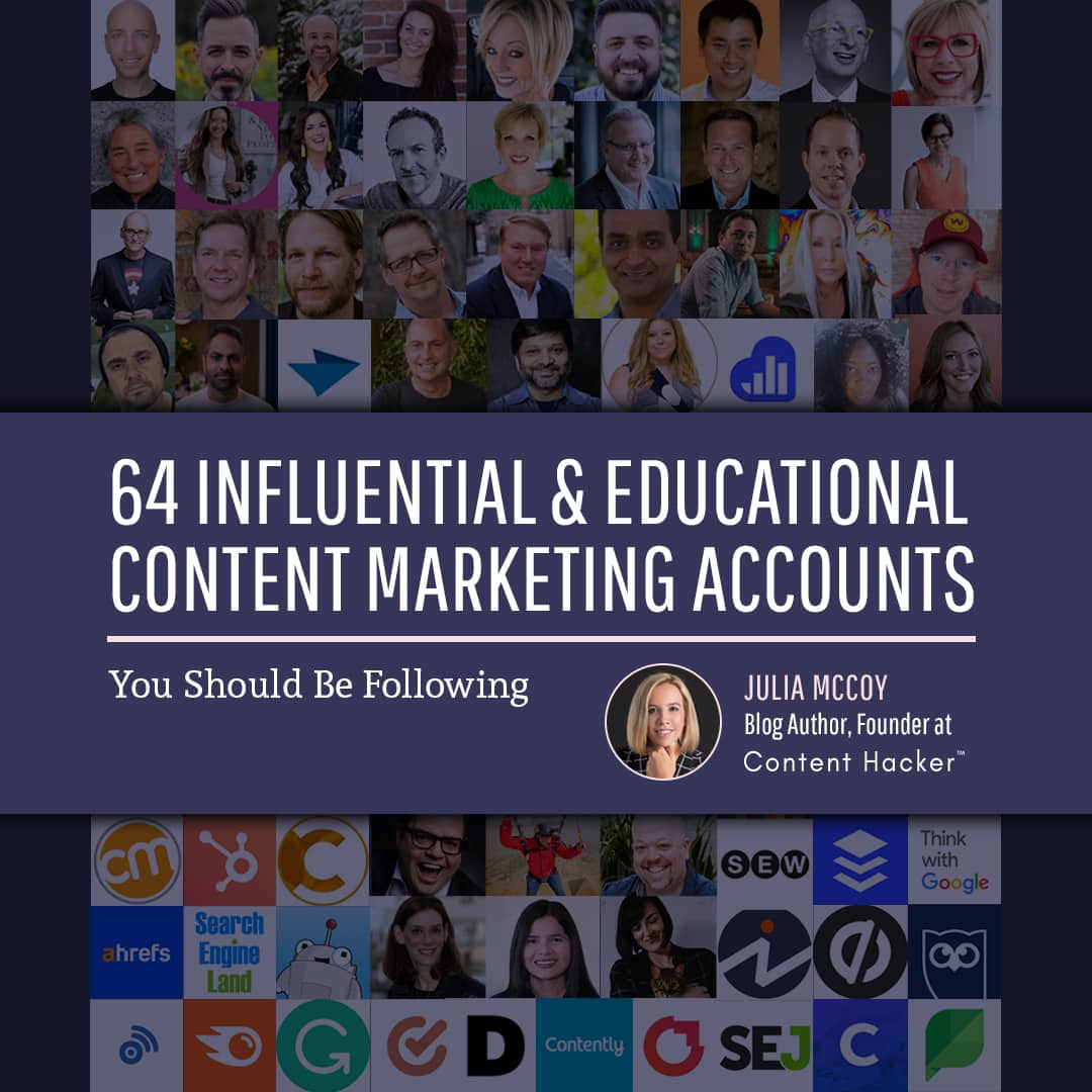 top content marketers and accounts